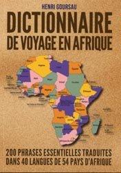 Dictionnaire de voyage en Afrique