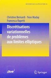 Discrétisations variationnelles de problèmes aux limites elliptiques