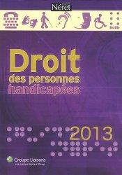 Droit des personnes handicapées 2013