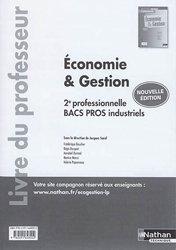 Economie et gestion 2de professionnelle, bacs pros industriels 2017