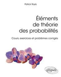 Eléments de théorie des probabilités