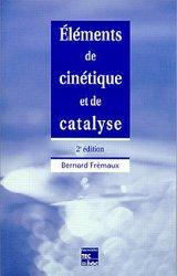 Elements de cinétique et de catalyse