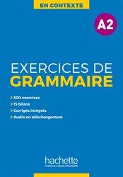 En Contexte : Exercices de grammaire A2 + audio MP3corrigés
