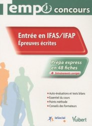 Entréee en IFAS / IFAP  Épreuves écrites