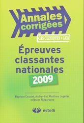 Épreuves classantes nationales 2009