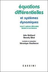 Equations différentielles et sytèmes dynamiques - volume 2