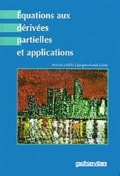 Équations aux dérivées partielles et applications