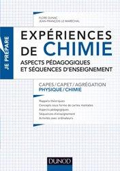 Expériences de chimie -Capes/Agrégation de sciences physiques