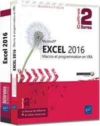Excel 2016 - Coffret de 2 livres