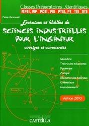 Exercices et khôlles de sciences industrielles pour l'ingénieur