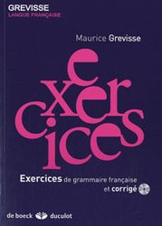 EXERCICES GRAMMAIRE FRANCAISE