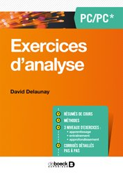 Exercices de maths - Analyse