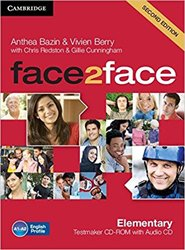 face2face, Elementary - Testmaker CD-ROM and Audio CD