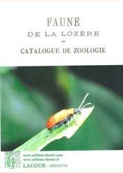 Faune de la Lozère ou catalogue de zoologie