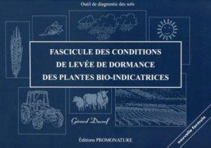 Fascicule des conditions de levées de dormance des plantes bio-indicatrices