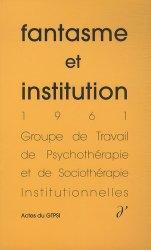 Fantasme et institution