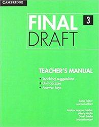 Final Draft Level 3 - Teacher's Manual