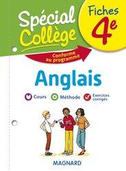 FICHES ANGLAIS 4E