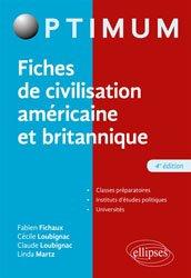 FICHES CIVILISATION AMERICAINE BRITANNIQUE