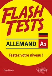 FLASH TESTS ALLEMAND A1