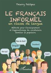 Français informel en classe de langue