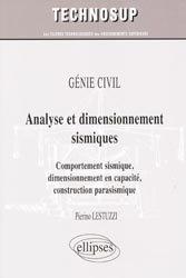 Analyse et dimensionnement sismiques