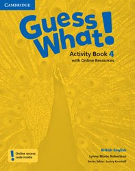 Guess What! Level 4 - Activity Book with Online Resources British English