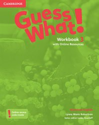 Guess What! American English Level 3 - Workbook with Online Resources
