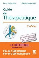 Guide de thérapeutique 2010