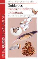 Guide des traces et indices d'oiseaux