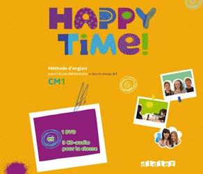 Happy Time CM1 : Coffret 3 CD Audio et 1 DVD Classe