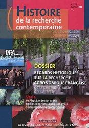 Histoire de la recherche contemporaine t.6/2