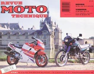 Honda CBR 500 F mod - Yamaha XTZ 660 ténéré