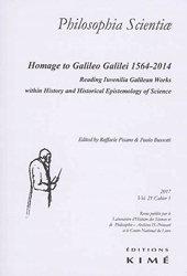 Homage to Galileo Galilei : 1564-2014
