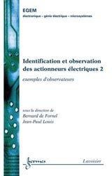 Identification et observation des actionneurs électriques 2
