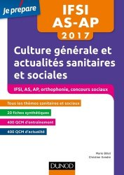 IFSI-AS-AP 2017 - Culture générale et actualités sanitaires et sociales