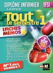 IFSI Tout le semestre 1 en fiches mémos - Diplôme infirmier