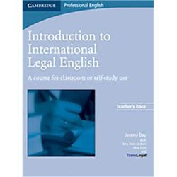 Introduction to International Legal English - Teacher's Book