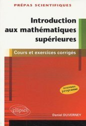 Introduction aux mathématiques supérieures