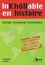 Inkhôllable en histoire, géographie, géopolitique en prépas