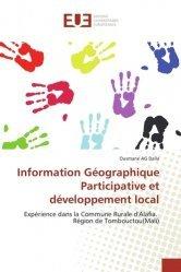 Information Géographique Participative et développement local