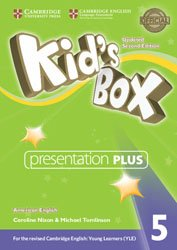 Kid's Box Level 5 - Presentation Plus DVD-ROM American English