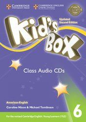 Kid's Box Level 6 - Class Audio CDs (4) American English