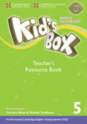 Kid's Box Level 5 - Teacher's Resource Book with Online Audio American English