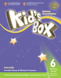 Kid's Box Level 6 - Activity Book with Online Resources British English