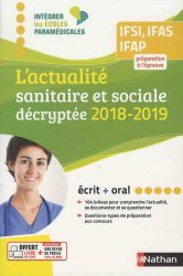 L'actualité sanitaire et sociale décryptée 2018-2019