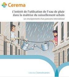 L'intêret de l'utilisation de l'eau de pluie dans la maîtrise du ruissellement urbain