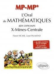 L'Oral de Mathématiques aux concours X-Mines-Centrale MP-MP*