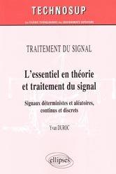 L'essentiel en théorie et traitement du signal