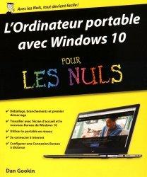 L'ordinateur portable avec Windows 10 pour les Nuls